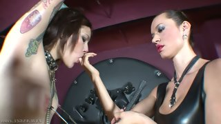 Ilvia rubi and franceska jaimes are two kinky..