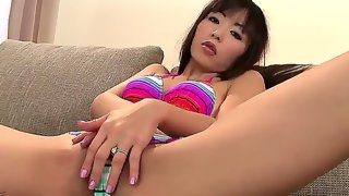 Gorgeous asian girl with sexy small boobies..