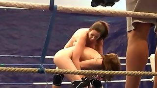 Nude fight club with eliska cross and lisa..