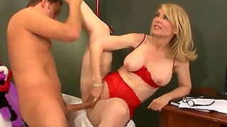 The mouthwatering blonde nina hartley in..