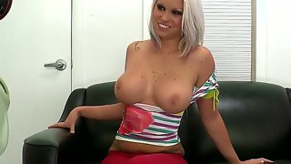 The hot blonde stripper deadra dee