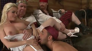 Horny pirate keiran lee catches diamond