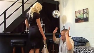 Anikka albrite sexy blonde dominatrix mistress