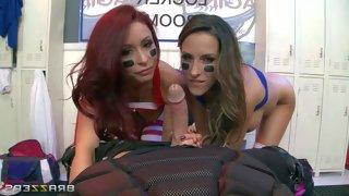 Sporty babes monique alexander and kortney kane..