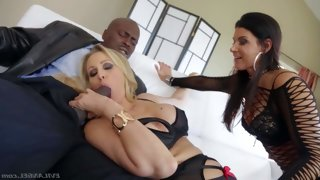 India summer and julia ann are playful bisexual..