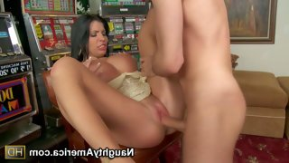 Rebeca linares is his dad's fucking sexy sexy..